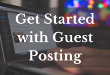 get started with guest posting